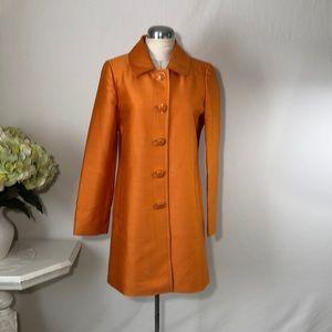 Banana Republic Orange Silk Jacket